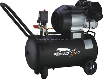2.5hp Two Cylinder Electric Piston Air Compressor Drilling Machine