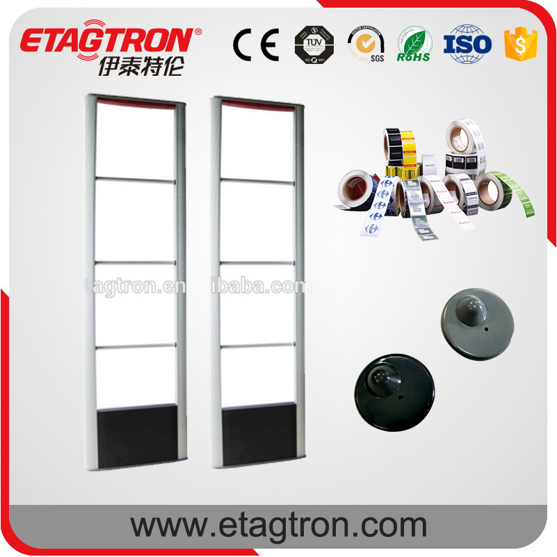 Quality and quantity assured EAS rf door system retail