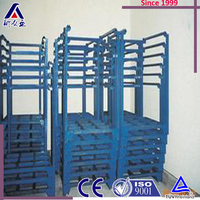 Good Quality Metal Two Tiers Truck Tyre Storage Rack For Shop