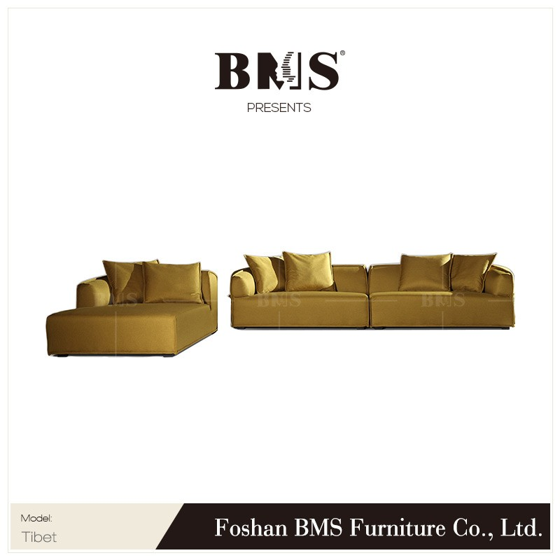 Contemporary sofa contracted style apartment corner sofa set