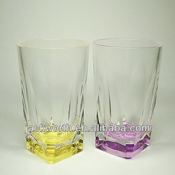 Drinking plastic cup tumbler