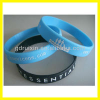 2013 hot promotional fashion silicone bracelets/wristbands with cheap price