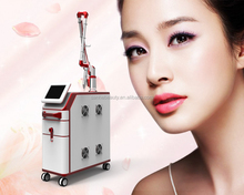 Super New Portable nd yag q-switched laser remove tattoo & skin care face lifting professional tattoo removal machine
