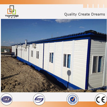 Prefab modular flat pack office assemble container house accommodation