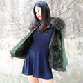 CX-G-P-17A Fashion Cheap Fox Fur Parka Jackets, Wholesale Winter Parka Jackets