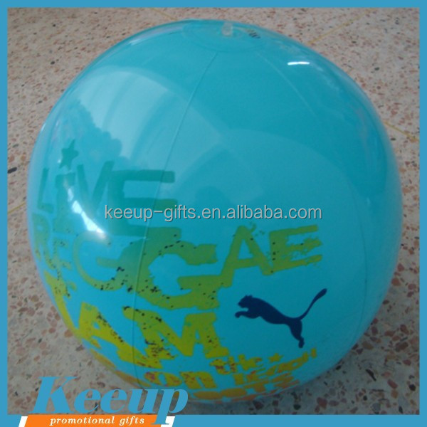 Eco-friendly 16 Inch Inflatable Beach Ball Sitting for Giveaways