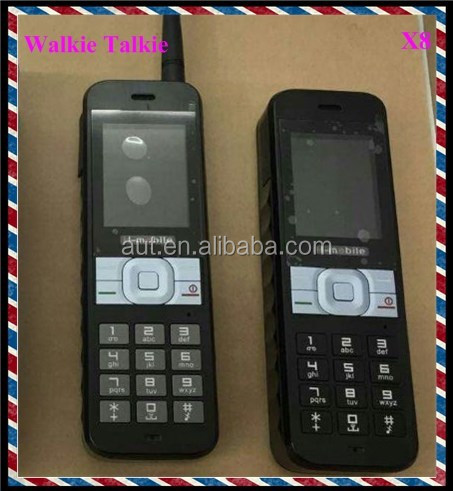 Walkie talkie function mobile phone X8-with 4 sim card