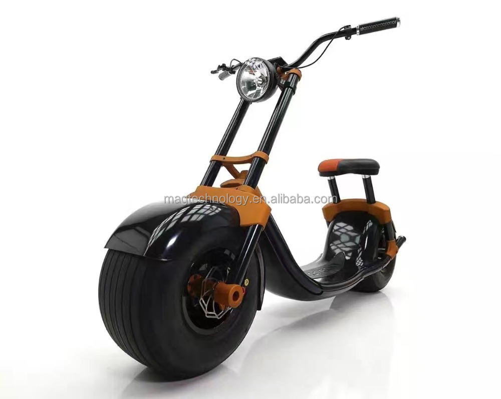 2017 New Design Citycoco Scrooser Hot Sale in Europe Best Airwheel cheap electric motorcycle with seat With App