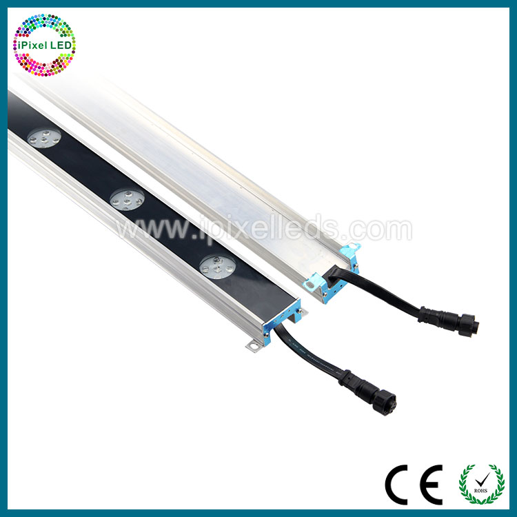 Glue waterproof dmx control smd 5050 with lens led color changing lights dmx led tube