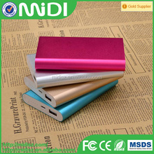 Waterproof,Portable Aluminium Outdoor Essential Power Bank 10000mAh foriPhone, iPad, Android, MP3, No