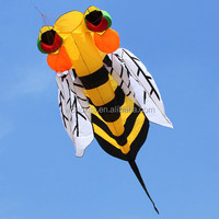 Vivid bee 3d soft inflatable kite