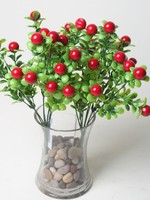 7 Branches wild berries plastic fake fruit home decorative fake fruit