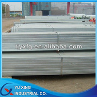 BS1387 Galvanized Steel Hollow Section/ Big Size Square Pipe