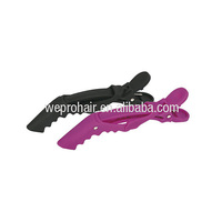 rubber coated jaw hair clip