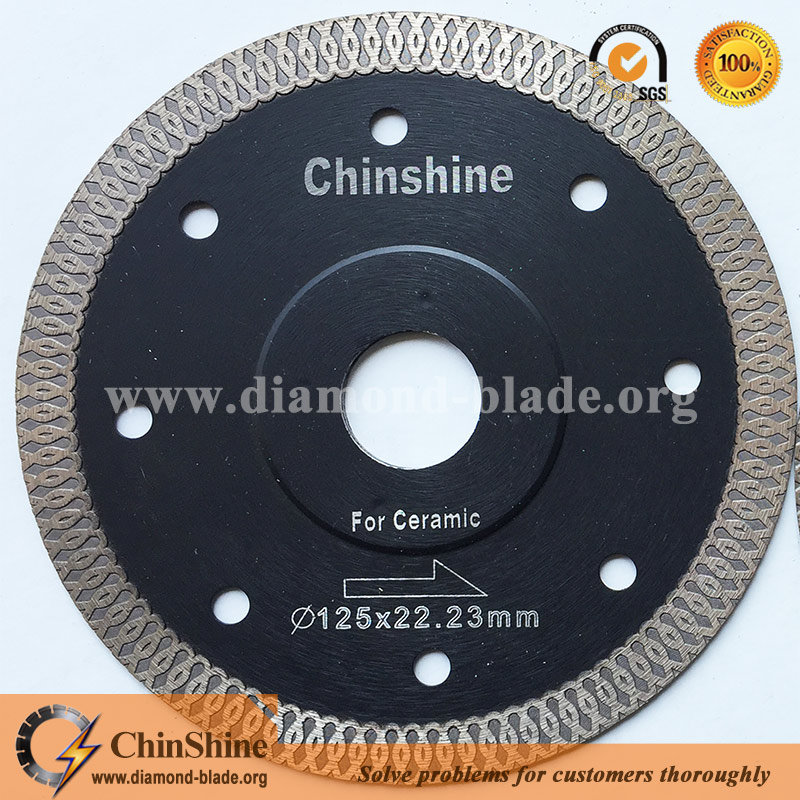 "5"" 9"" 125mm 230mm x diamond tile saw blade for cutting ceramic porcelain tile"