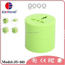 CE Rosh Approval Top Selling Coloful Universal Plug UK US Travel Adaptor
