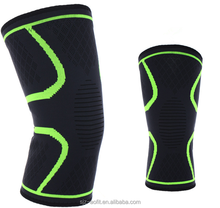 Hot Product Custom Nylon Knitting copper compression knee support brace
