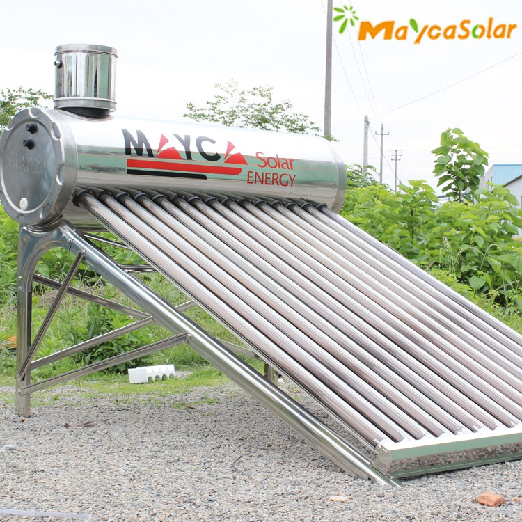Evacuated Tube Non-pressurized Solar Heater For Rooms