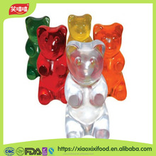 Animal Shaped Cartoon Zoo Gummy Fruity Flavor Sweet Jelly Soft Candy Chewing Gummy