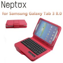 Factory Wholesale Foldable Blue Tooth Wireless Laptop Keyboard for Samsung Galaxy Tab 3 8.0