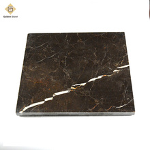 2017 chinese polished oriental brown marble with free sample