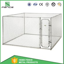 New Design large outdoor chain link dog kennel/dog fence for sale