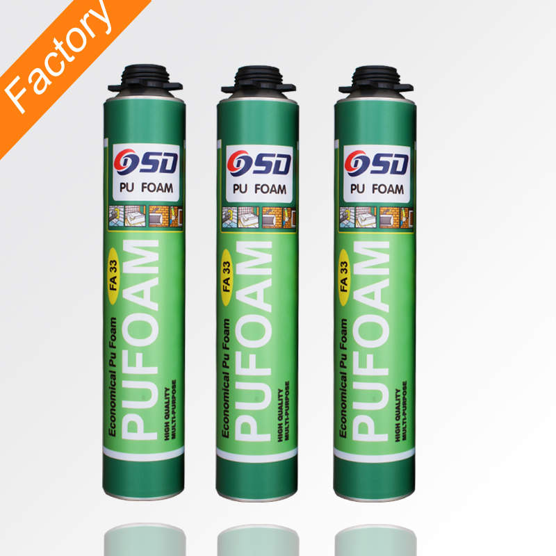 economical all purpose fast curing PU adhesive polyurethane foam