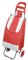 Foldable Trolley Shopping Bag with Two Wheels
