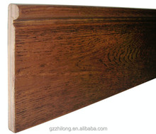 foshan decorative wood moulding skirting board manufacturer