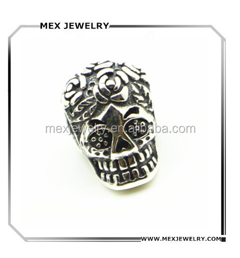 Sterling Silver Sugar Skull charms Wholesale