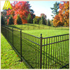 8 -10feet high tubular black Aluminum fence for bakcyard for house