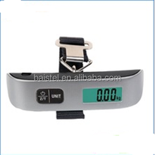 50kg/10g Portable LCD Digital Fish Hanging Luggage Weight Electronic Strap Scale Heavy Duty Suitcase Baggage Bag Scale