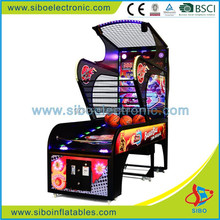 GM3312 hot sell in 2016!! street basketball arcade game machine,basketball shooting gun machine, mini arcade machine
