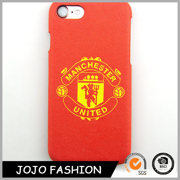 Factory price football team phone case red phone case