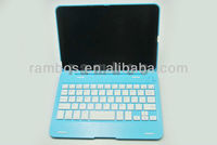 Wireless Bluetooth Aluminum Keyboard Case Cover Shell for ipad mini