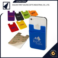 Custom reusable silicone lycra mobile phone covers