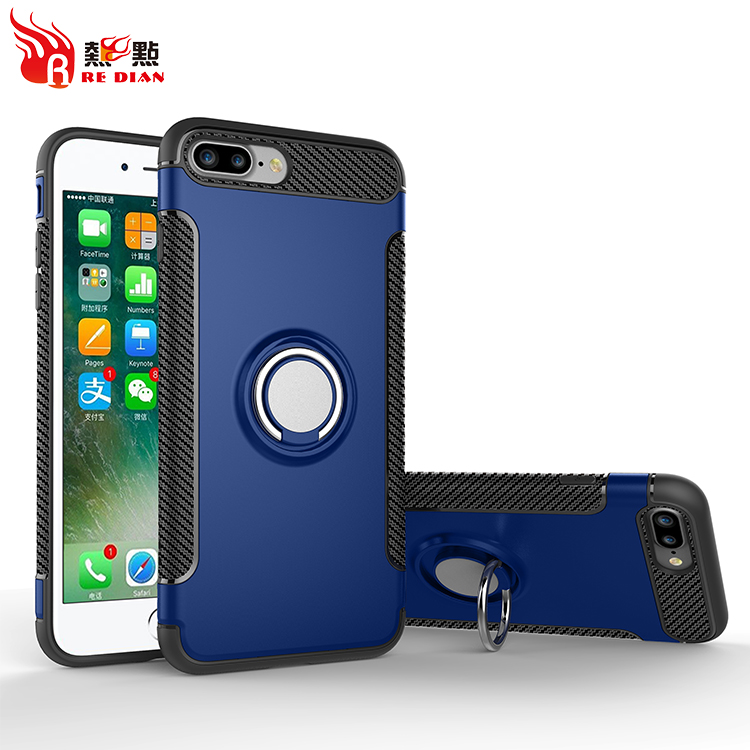 Fancy phone cases for iphone 7,finger ring holder phone case for iphone 7,hard case for iphone 7 case design