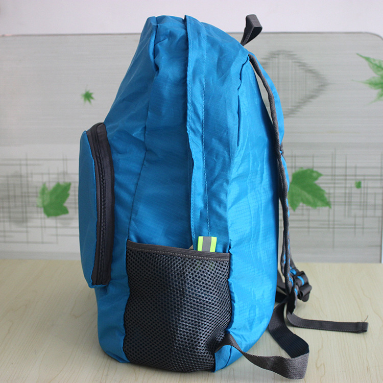 Outdoor foldable nylon backpack waterproof backpack travelling bag