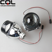 "Wholesale CQL 2.0"" 2.5"" 2.8"" 3"" projector made in germany hid,H1 H4 H7 made in china digital projector,Headlight xenon H1 lens"