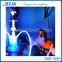 Waterproof Remote Controlled Led Glass Hookah Lights For Shisha Bottle Decoration