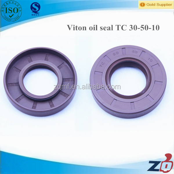 double lip single spring rubber viton oil seal