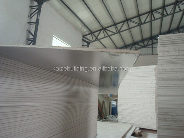 Decorative Paper Faced Plasterboards Type Gypsum Ceiling Boards