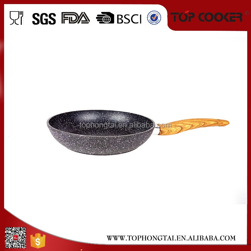 Excellent Houseware marble frying pan stone
