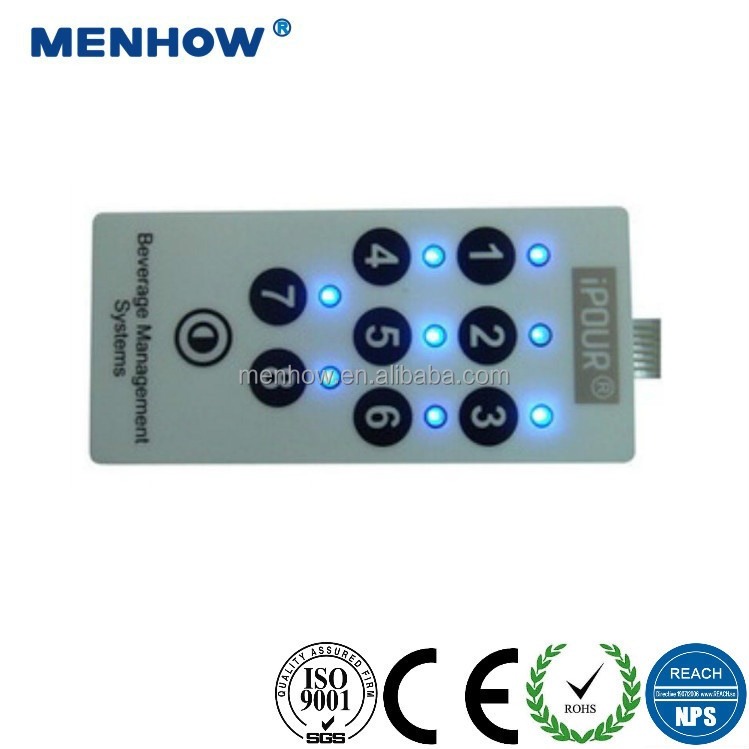 membrane keyboards polydome contact points tactile membrane touch switch