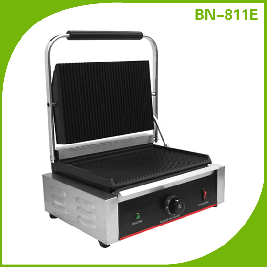 Industrial Panini Contact Grill Toaster BN-811E
