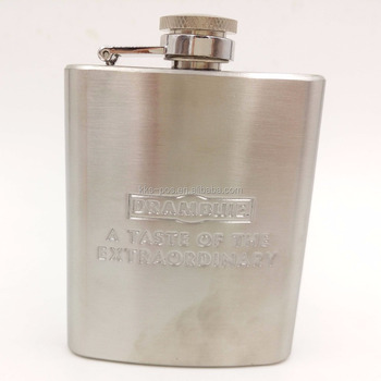 8oz Stainless Steel Personalised Wine Pot Hip Flask Gifts