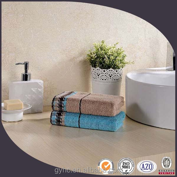 Cheap wholesale bath room greek 100% cotton high plain towel