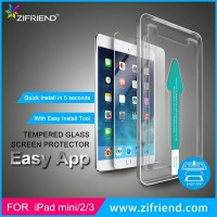 Easy Install Tempered Glass Screen Protector for Apple iPad mini 2
