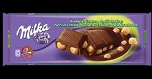MILKA CHOCOLATE BARS 300G
