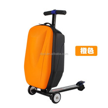 China manufactory 3 wheels scooter luggage for business travel